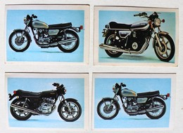 4 Stickers 1976 Moto YAMAHA XS 650 XS 500 SX2 Album Motos Action Vanderhout - Motos