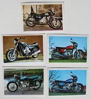 5 Stickers 1976 Moto Suzuki GT 550 Gt 750 RE5 Van Veen OCR 1000 Ural M66 Album Motos Action Vanderhout - Motos
