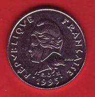 - NOUVELLE CALEDONIE - 10 Francs - 1995 - - New Caledonia