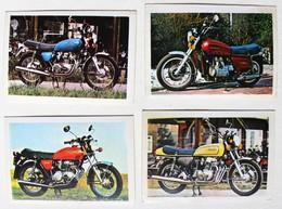 4 Stickers 1976 Moto HONDA CB 400 CB 550 CB 750 GL 1000 Album Motos Action Vanderhout - Motos