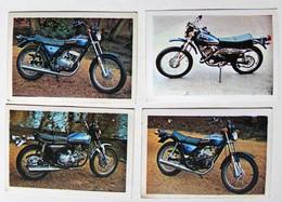 4 Stickers 1976 Moto AMF Harley Davidson SS 175 SS 250 SS 350 Et Sx 125 Album Motos Action Vanderhout - Motos