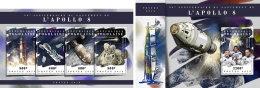 TOGO 2018 MNH** Apollo 8 Space Raumfahrt Espace M/S+S/S - OFFICIAL ISSUE - DH1808 - Raumfahrt