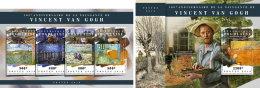 TOGO 2018 MNH** Vincent Van Gogh Painter Maler Peintre M/S+S/S - OFFICIAL ISSUE - DH1808 - Künste