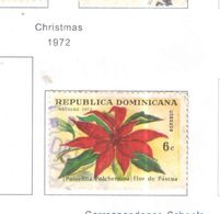 Rep.Dominicana PO 1972 Natale .Scott.702 Used See Scans On Scott.Page - Dominican Republic