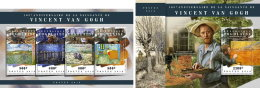 TOGO 2018 MNH** Vincent Van Gogh Painter Maler Peintre M/S+S/S - IMPERFORATED - DH1808 - Künste