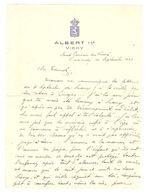 Lettre De Famille En Tête HOTEL Albert 1er VICHY, Allier ; évocation Communes Suaux, Bethanam ;Blason Septembre 1941 ,TB - Vecchi Documenti