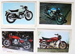 4 Stickers 1976 Moto Guzzi Le Mans Et 250 Carabela Oil Master Ducati 860 GT Album Motos Action Vanderhout - Motos