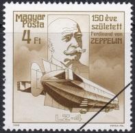 Specimen, Hungary Sc3108 Count Ferdinand Von Zeppelin (1838-1917), LZ-4 (1908), Dirigeable - Zeppelins