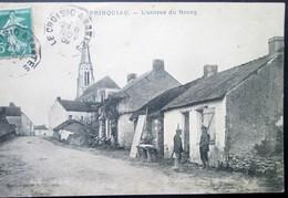 44  PRINQUIAU Entrée Du BOURG  1909 SAVENAY LAUNAY CAMPBON MONTOIR DONGES LAVAU - Otros Municipios
