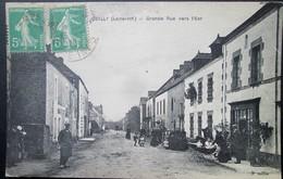 44  QUILLY Grande Rue 1919 PONTCHATEAU BRIVET GUENROUET BLAIN BOUVRON CAMPBON - Otros Municipios