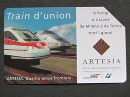 ARTESIA TRAIN D'UNION SNCF FS LIRE 5.000 - USATA MASSIMA QUALITA' - Treni