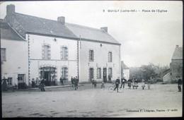 """44  QUILLY La PLACE """"HOTEL PETEL"""" 1922  PONTCHATEAU BRIVET GUENROUET BLAIN BOUVRON CAMPBON - Otros Municipios"""