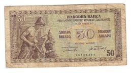 Yugoslavia 50 Dinara 1946 - Yugoslavia