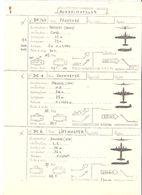 Fiche Technique QUADRIMOTEURS Avion Provence Breguet BR 763 Skymaster/ Liftmaster Douglas DC 4 / 6  ; Vers 1950 , TB - Manuals