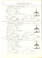 Fiche Technique QUADRIREACTEURS Avion Boeing 707 Jetliner Douglas DC 8 Convair Coronado C 990  ; Vers 1950/ 60 , TB - Manuals