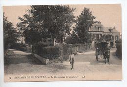 ENVIRONS DE VILLERVILLE (14) - LE CARREFOUR DE CRICQUEBOEUF -  LL - Villerville