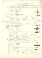 Fiche Technique BIMOTEURS Avion NORATLAS N 2501, Packet Fairchild C 119  CESSNA Skymaster CES 336 ; Vers 1950/ 60 , TB - Manuals