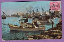 Afrique Egypte Alexandrie La Baie Ouest 1908 - Alexandria