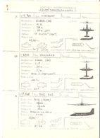 Fiche Technique QUADRI TURBO PROPULSEURS Avion VICKERS Viscount V 708,Vanguard V 950, POTEZ 842,   ; Vers 1950/ 60 , TB - Manuals
