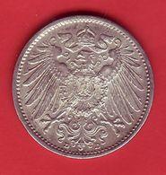 - ALLEMAGNE - 1 Mark - 1914 - Argent - - [ 2] 1871-1918: Deutsches Kaiserreich