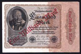 EINE MILLIARDE MARK - AUF 1000 MARK -- BERLIN 15 DEZEMBER 1922 - UNUSED - VF - [ 3] 1918-1933 : Repubblica  Di Weimar