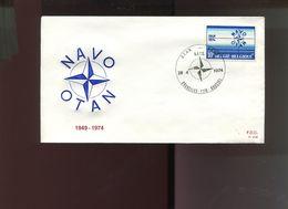 Belgie 1974 1712 NATO OTAN  FDC - 1971-80