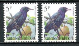 BE   2638 - 2638P8a   XX   ---   Les Deux Papiers  --  Etourneau Sansonnet - 1985-.. Vögel (Buzin)