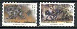 BE   2693 - 2694   XX   ---   Europa : Histoires / Légendes De Flandres Et De Wallonie - Belgien