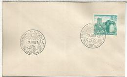 BARCELONA 1972 GRACIA SATELITE COHETE - Cartas