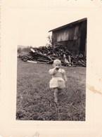 Lot De 3 Photo Originale Vintage Snapshot Les Islettes Meuse Enfant Bebe ( 1955, 57 Et 59 ) - Places