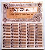 Administraciones Mobiliarias, S. A. *AMOSA* - Industrie
