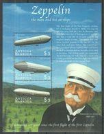 K04. Antigua & Barbuda - MNH - Transport - Zeppelins - Zeppelins