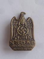 GERMANY - NAZI - NSDAP REICHSPARTEITAG - NURNBERG 1933  Rare Badge - Army