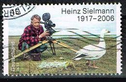 Bund 2017, Michel# 3318 O Heinz Sielmann - BRD