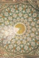 IR -Isfahan - Tile Work Of The Portal Of  Chahar Bagh... School -Ispahan. Revêtement En Kâchis (Madrassa Madarchah) 1967 - Iran