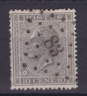 N° 17 LP 83  CINEY - 1865-1866 Linksprofil