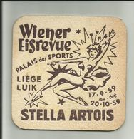 STELLA ARTOIS Palais Des Sports Liége 1959 - Sous-bocks
