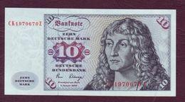 ALLEMAGNE - 10 DEUTSCHE MARK Albert Durer - 02/01/1980 NEUF/UNC - [ 7] 1949-… : FRG - Fed. Rep. Of Germany