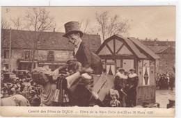 Côte-d'Or - Comité Des Fêtes De Dijon - Fêtes De La Mère Folle Des 23 Au 28 Mars 1935 - Dijon