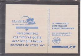 Carnet Type Marianne De Beaujard TVP Rouge - Carnets