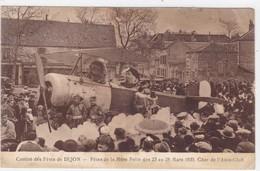 Côte-d'Or - Comité Des Fêtes De Dijon - Fêtes De La Mère Folle Des 23 Au 28 Mars 1935 - Char De L'Aéro-Club - Dijon