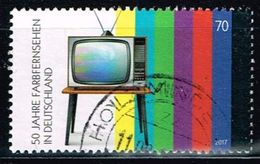 Bund 2017, Michel# 3329 O 50 Jahre Farbfernsehen - [7] West-Duitsland