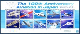 Japon Nippon 2010 5191/200 Avions - Concorde