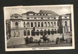 """ROMA - TEATRO Dell' OPERA ( Spedita 1938 ) Annullo Meccanizzato""""Mostra Del Dopolavoro.Massime Riduzioni Ferroviarie"""" - Roma"""