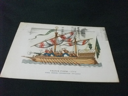 NAVE SHIP VELIERO GALERA TURCA 1650 - Voiliers