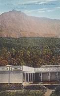 Ile De La REUNION  CILAOS CPA Datée 1932 Editeur Georges AMPHOUX Le SEMINAIRE Et Vue Sur Le PITON Des NEIGES - La Réunion
