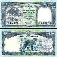 NEPAL 50 Rupees 2016 Everest  UNC - Népal