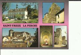 CPM SAINT YRIEIX LA PERCHE MULTIVUES - Saint Yrieix La Perche