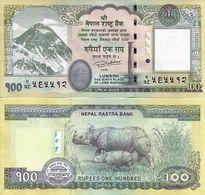 NEPAL 100 Rupees 2016 Everest  UNC - Népal