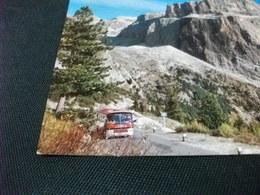 PIEGA ANG. PULLMAN  DOLOMITI DI FASSA PORDOI - Autobus & Pullman